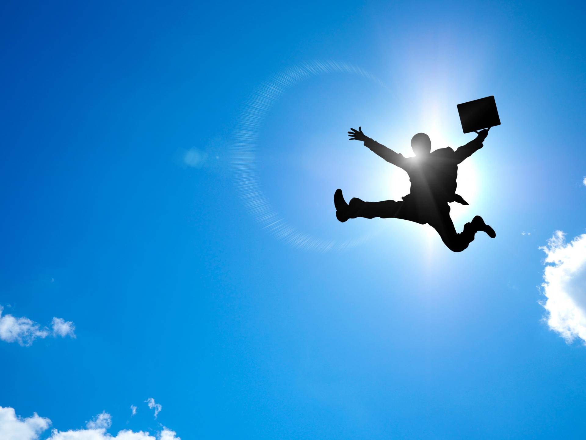 飛ぶサラリーマン