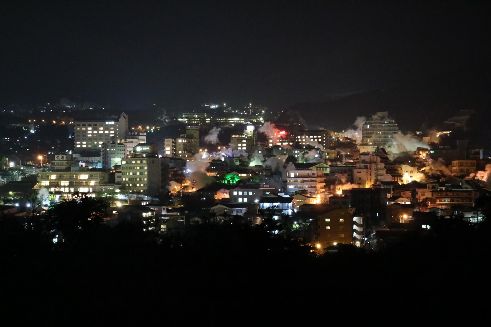 別府市の夜景