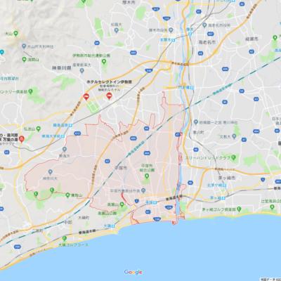 平塚市のGoogle Maps