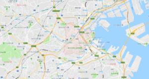 横浜市西区の地図