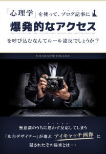 THE SELECTED EYECATCHのキャッチ