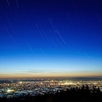 富山 散居村