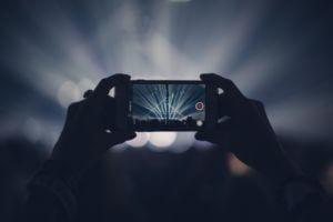 iphoneで撮影する